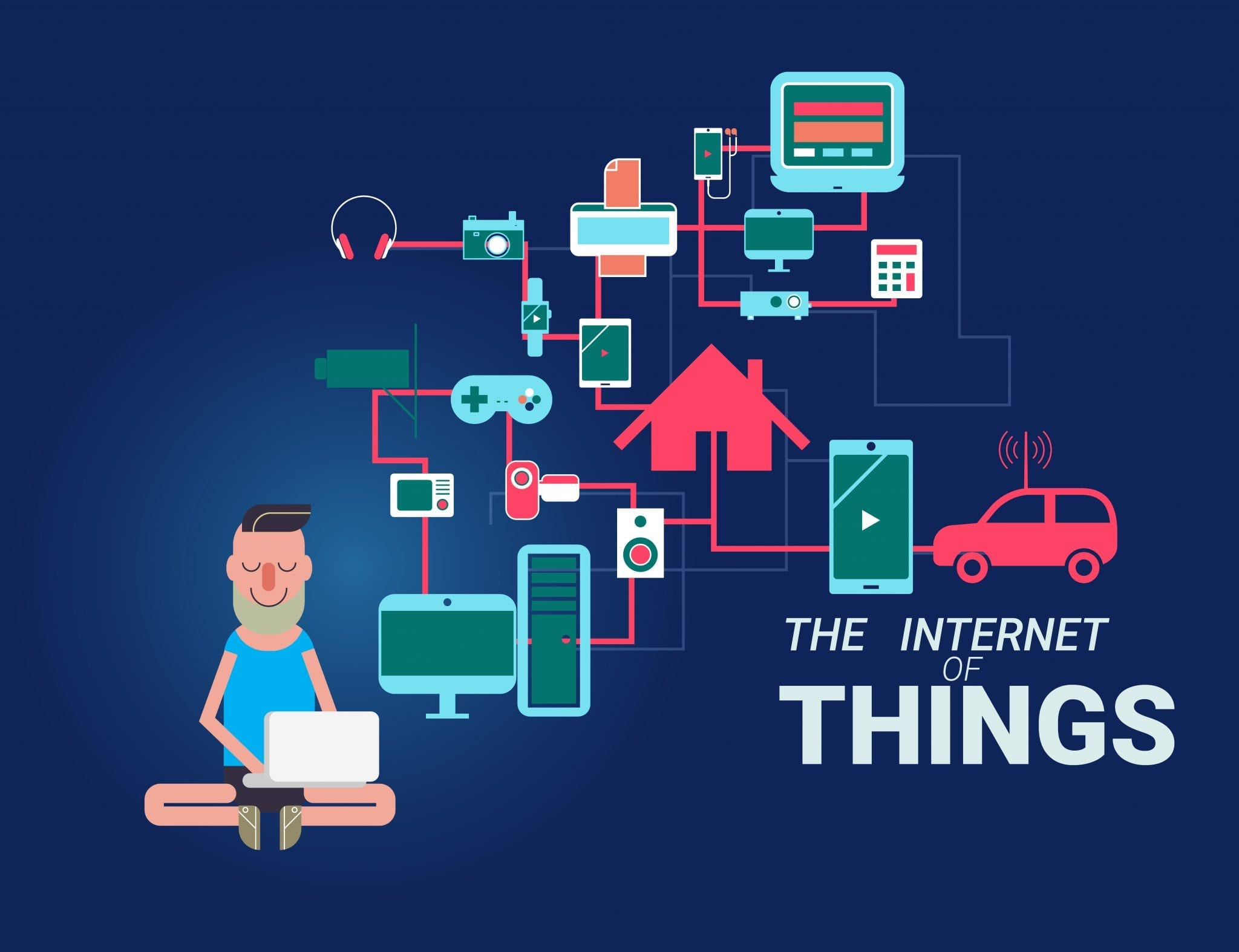 Internet of things illustrations