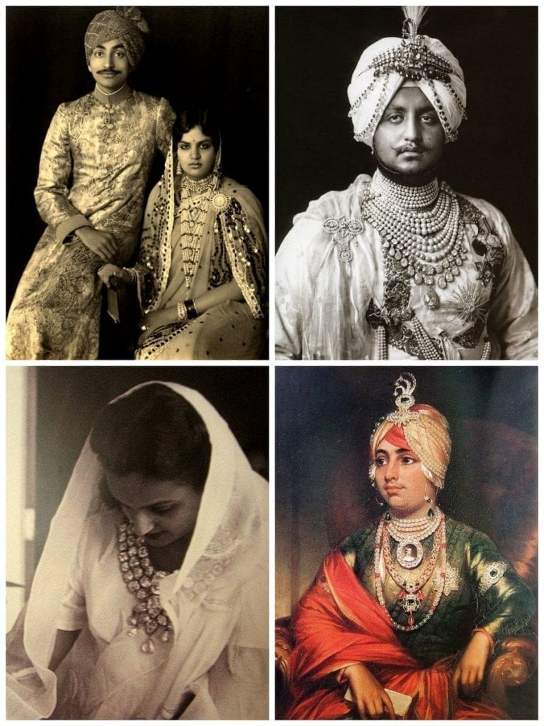 Gold Jewelry wore by royal families