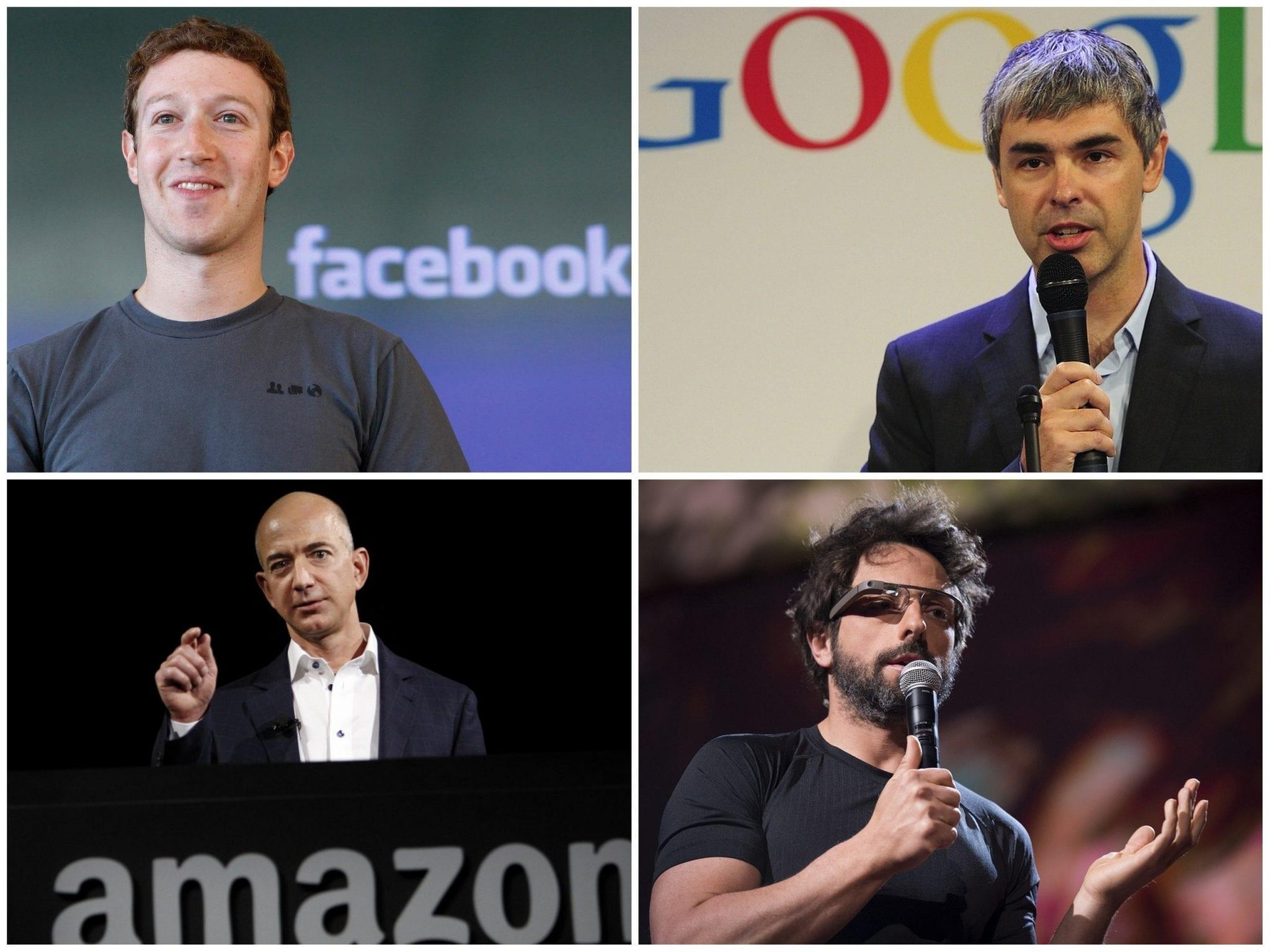 Mark Zuckerberg, Jeff Bezos or Larry Page & Sergey Brin