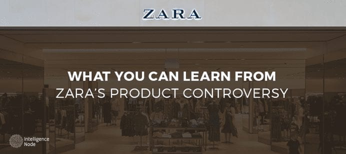 Zara product controversy image