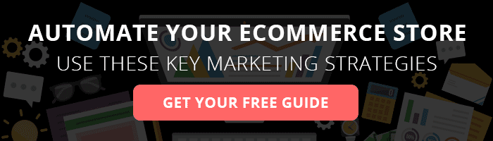 Automate you e-commerce store CTA