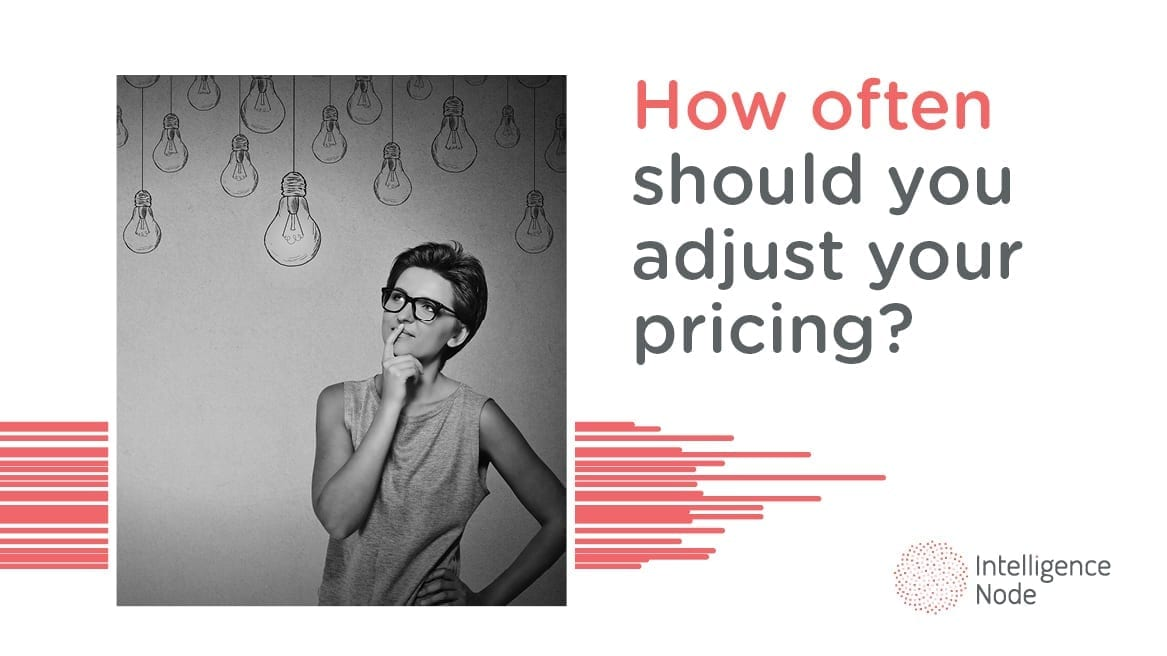 adjust your pricing