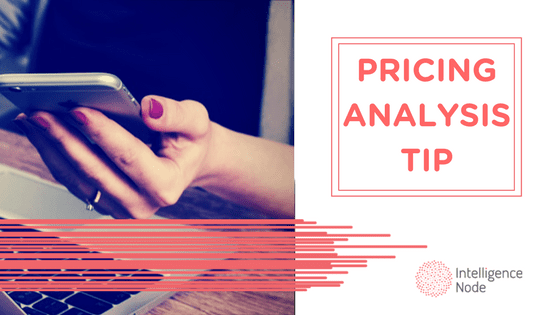 pricing analysis