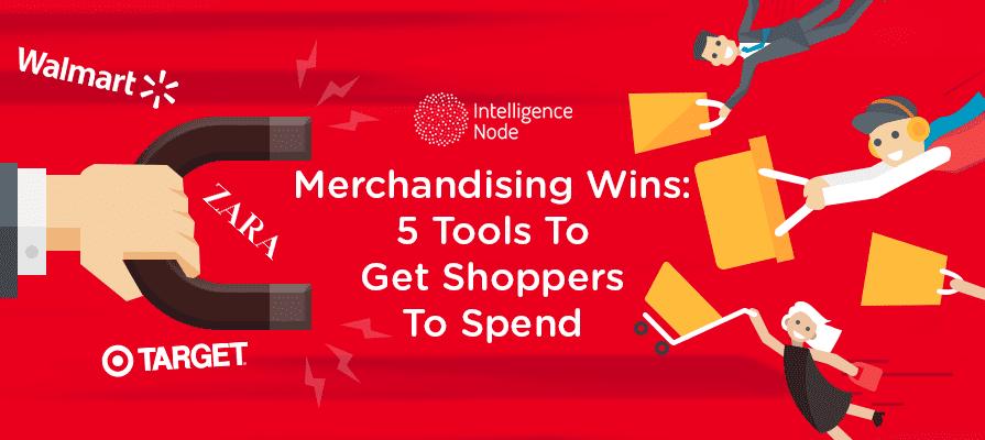 merchandising tools for shooppers banner