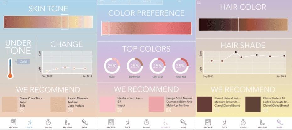dashboard color preference
