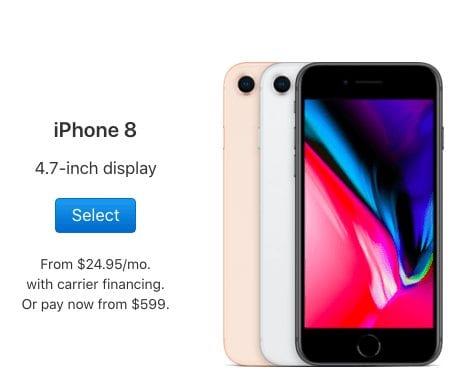 iphone 8 plus 4.7 inch