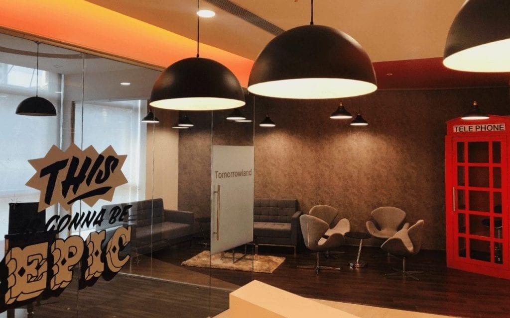 Reception area intelligence node