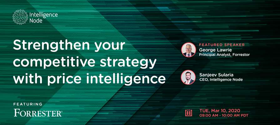 competitive strategy with price intelligence webinar banner