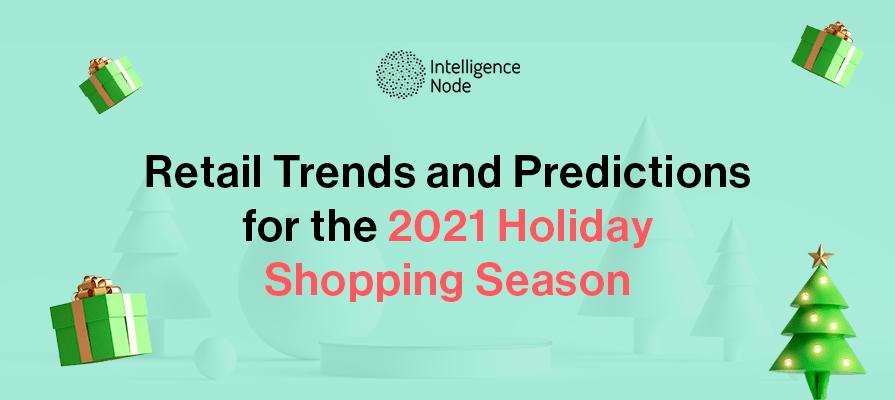 2021 holiday shopping season trends banner