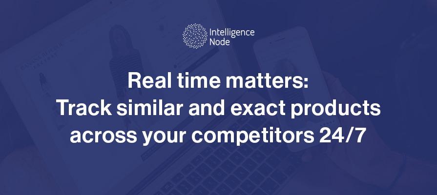 similar and exact matches product matching AI